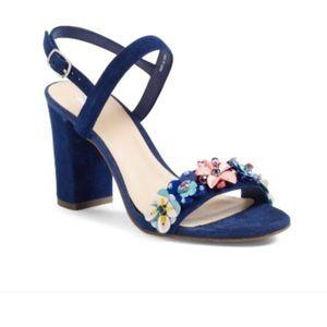 BP. Lula Block Heel Slingback Sandal size 7,5 New